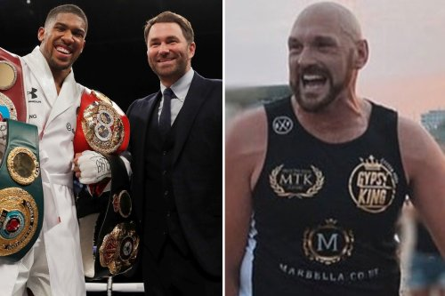 Fury fight with Joshua contracts sealed as Hearn hints at Saudi Arabia showdown