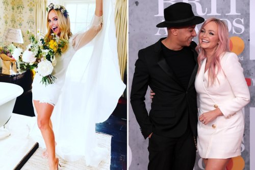 Emma Bunton talks about her secret 'romantic' wedding for the first time