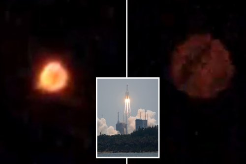 Mystery UFO spotted in India as locals fear it could be 'out of control' rocket