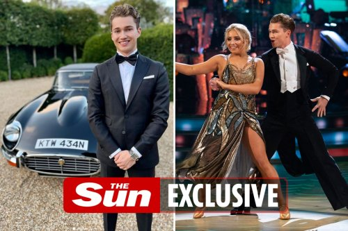 AJ Pritchard SNUBBED last night's Strictly launch