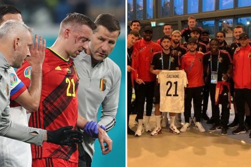 Belgium dedicate Euros win over Denmark to Timothy Castagne after horror injury