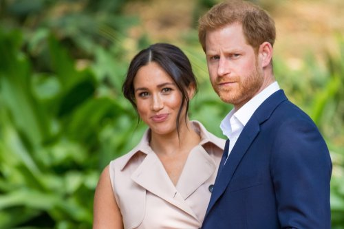Meghan may fly to UK to 'support Harry as family ties have WORSENED'