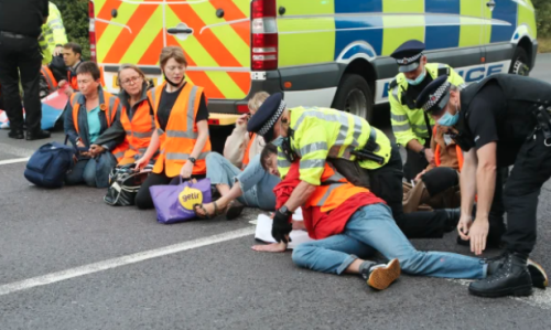 Mum paralysed from stroke after M25 protest left son in traffic for SIX HOURS