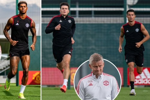 Marcus Rashford looks sharp in Man Utd training as he steps closes to return
