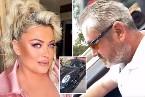Generous Gemma Collins buys her brother Russell a £80k Porsche for 'putting up with her'