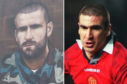 Man Utd fans in hysterics as Luke Shaw mural looks like Eric Cantona