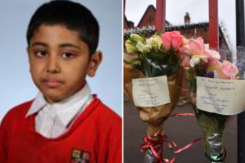 Footy fan, 10, who died after hitting head was 'wearing oversized trainers'