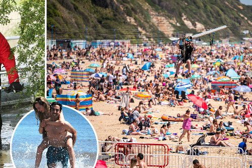 Brits to enjoy a 24C sizzler before a MONTH'S rain falls tomorrow