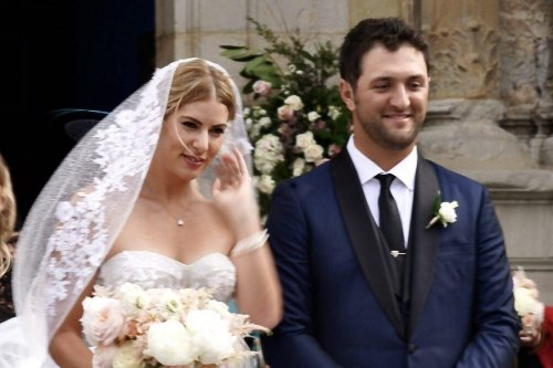 Who is Kelley Cahill? Jon Rahm's stunning wife and how long has she been with the golfer?