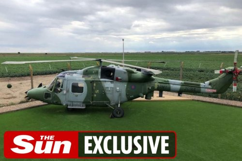 Airbnb guests can stay in helicopter which flew over Afghanistan
