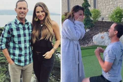 The Bachelor's Michelle Money engaged to professional golfer Mike Weir