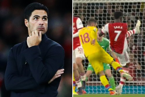 Arsenal boss Arteta FUMING that VAR didn't send off McArthur for 'whack' on Saka