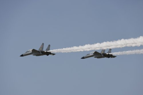 China flies 10 fighter jets into Taiwan air space sparking WW3 fears