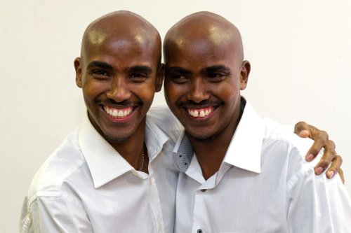 Mo Farah can 'feel' when his identical twin is having a tough time in Somalia