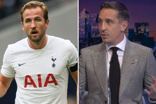 Kane 'looked despondent' in Tottenham drubbing by Chelsea says Gary Neville