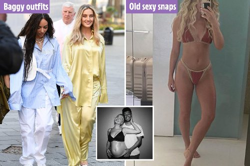 How Little Mix's Perrie Edwards hid her pregnancy with baggy clothes and throwback pics on Instagram