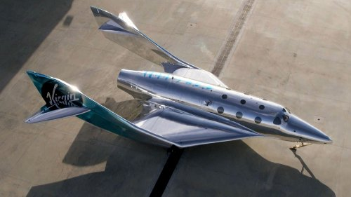 Virgin Galactic unveils new spaceship ahead of 1st manned flight this year