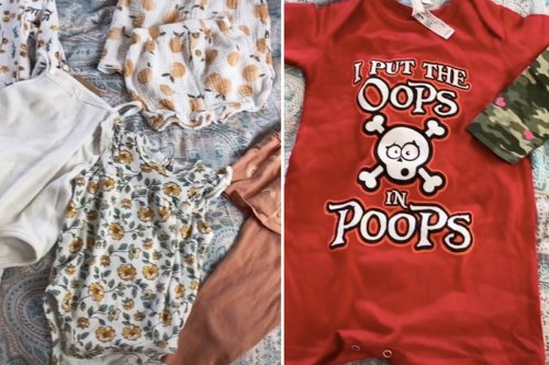 'Ungrateful' mum slammed for complaining about baby clothes she's given