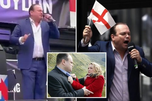 England fans stunned as Barry from EastEnders belts out national anthem at Euros