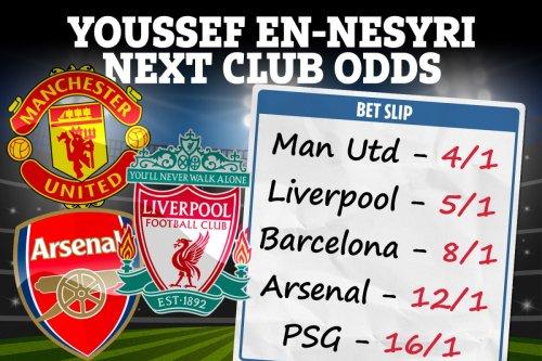 Man United, Liverpool and Arsenal bidding to sign Sevilla ace Youssef En-Nesyri