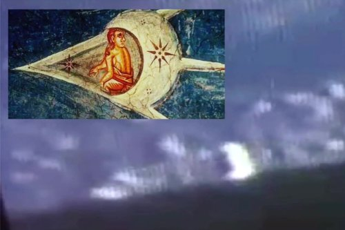 UFO that looks 'like 600-year-old biblical painting' spotted near ISS