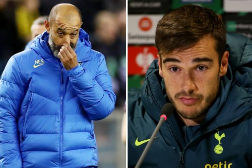 Winks fires veiled attack on Tottenham boss Nuno and wants to discuss his future