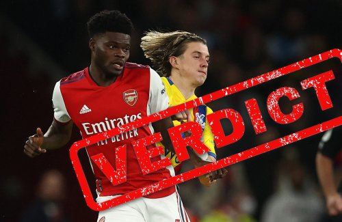'New Vieira' Partey has shocker as woeful Arsenal scrape draw against Palace
