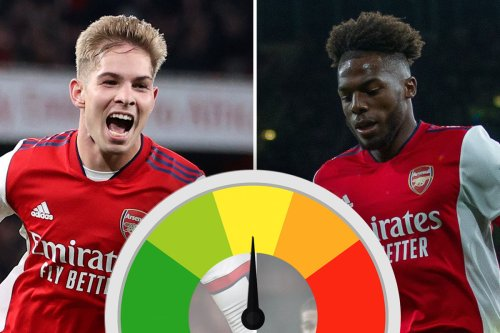 Arsenal Ratings: Emile Smith Rowe superb in front of England boss Southgate