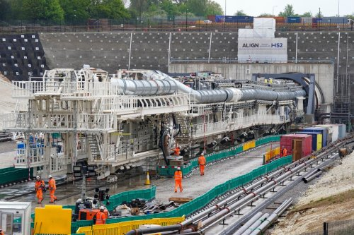 HS2 gets underway as world's longest tunnelling machine prepares to dig