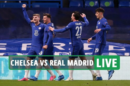 Chelsea vs Real Madrid LIVE: Follow all the latest from Champions League clash