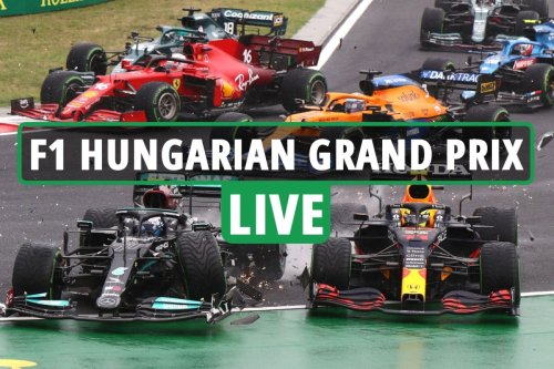 F1 Hungarian Grand Prix LIVE RESULTS: Ocon leads as Hamilton stuck behind stubborn Alonso after starting alone