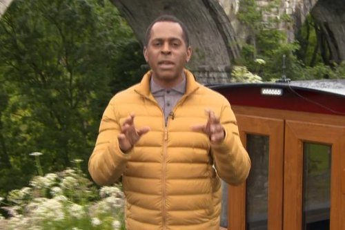 GMB's Andi Peters reveals security follows him around shops in case he STEALS