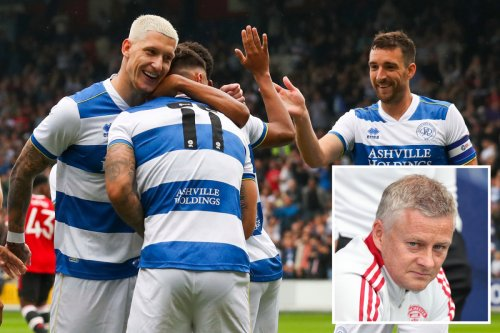 QPR 4 Man Utd 2: Solskjaer's men humiliated by Championship side in friendly