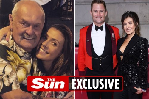 Kym Marsh's cancer stricken dad says he wants to live to walk her down the aisle