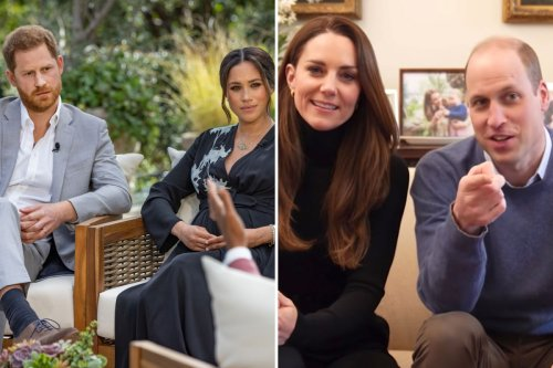 Meg & Harry are 'competing in a popularity contest with Kate & William'