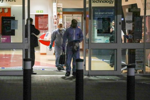 Shoppers terrified after boy, 14, stabbed at Argos as 'store in lockdown'
