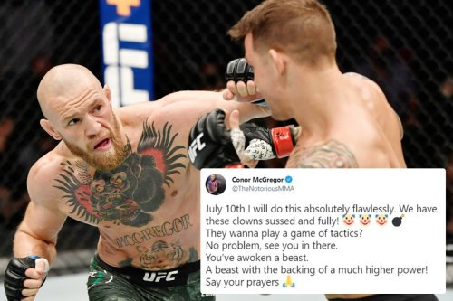 McGregor vows be 'flawless' in Poirier fight as 'we've got these clowns sussed'
