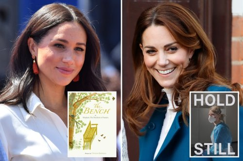 Kate's book is number five on bestseller list while Meghan's is down at 24