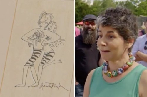 Antiques Roadshow guest shocked after rare art found in SKIP gets huge valuation