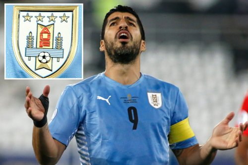 Fifa order Uruguay to remove two stars from kit in World Cups row