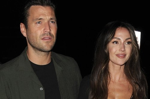 Michelle Keegan shows off her abs on romantic date night with Mark Wright