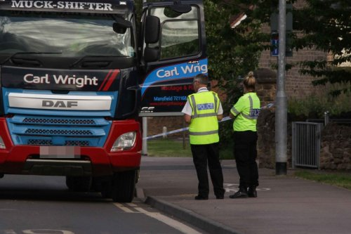 Girl has 'life-changing injuries' after being hit by a lorry after school
