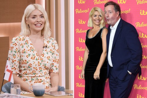 Piers Morgan reveals brutal text Holly Willoughby sent after he suggested they host GMB together