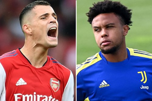 Arsenal plan to offer Xhaka to Juve in swap deal for McKennie in blow to Spurs