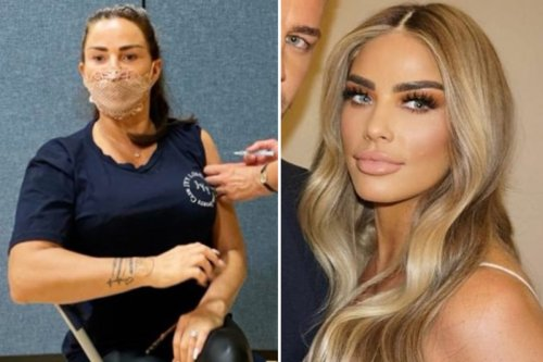 Katie Price gets her second Covid jab and reveals ANOTHER new hair makeover