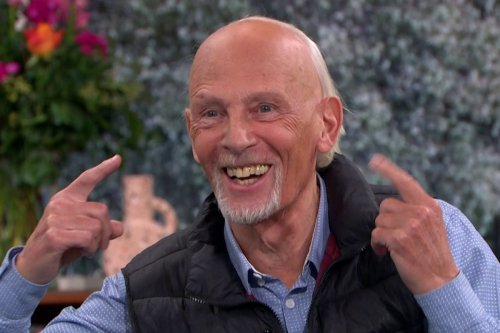 EastEnders star Paul Nicholas looks unrecognisable as he appears on This Morning to launch career as a RAPPER