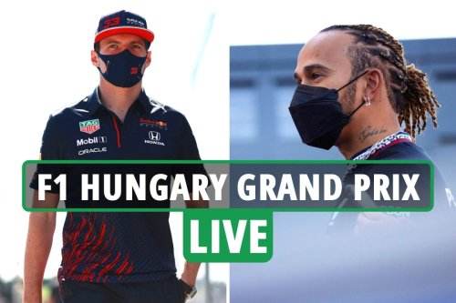 F1 Hungarian Grand Prix LIVE qualifying: Hamilton and Verstappen resume rivalry after ill-tempered clash - updates