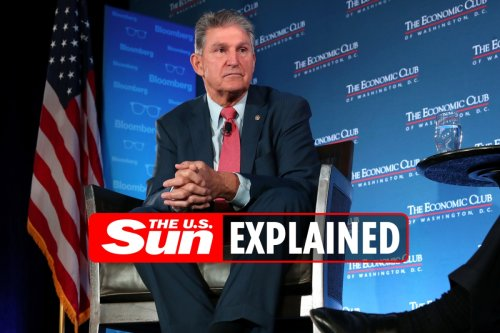 What is Joe Manchin's approval rating and when is he up for reelection?