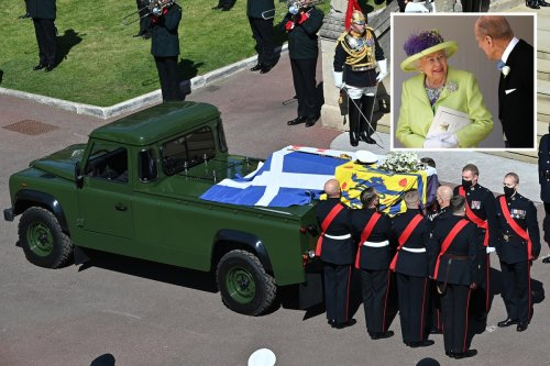 Philip's inside joke with Queen that inspired his Land Rover hearse