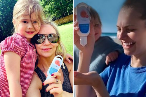 Kara Tointon & Kristina Rihanoff back campaign giving free sun cream to kids